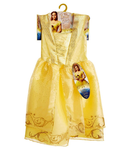 Give 10 Back 39897327198 Disney Beauty and the Beast Child's Belle's Ball Gown - Size 4-6x Give Ten Back Give10Back