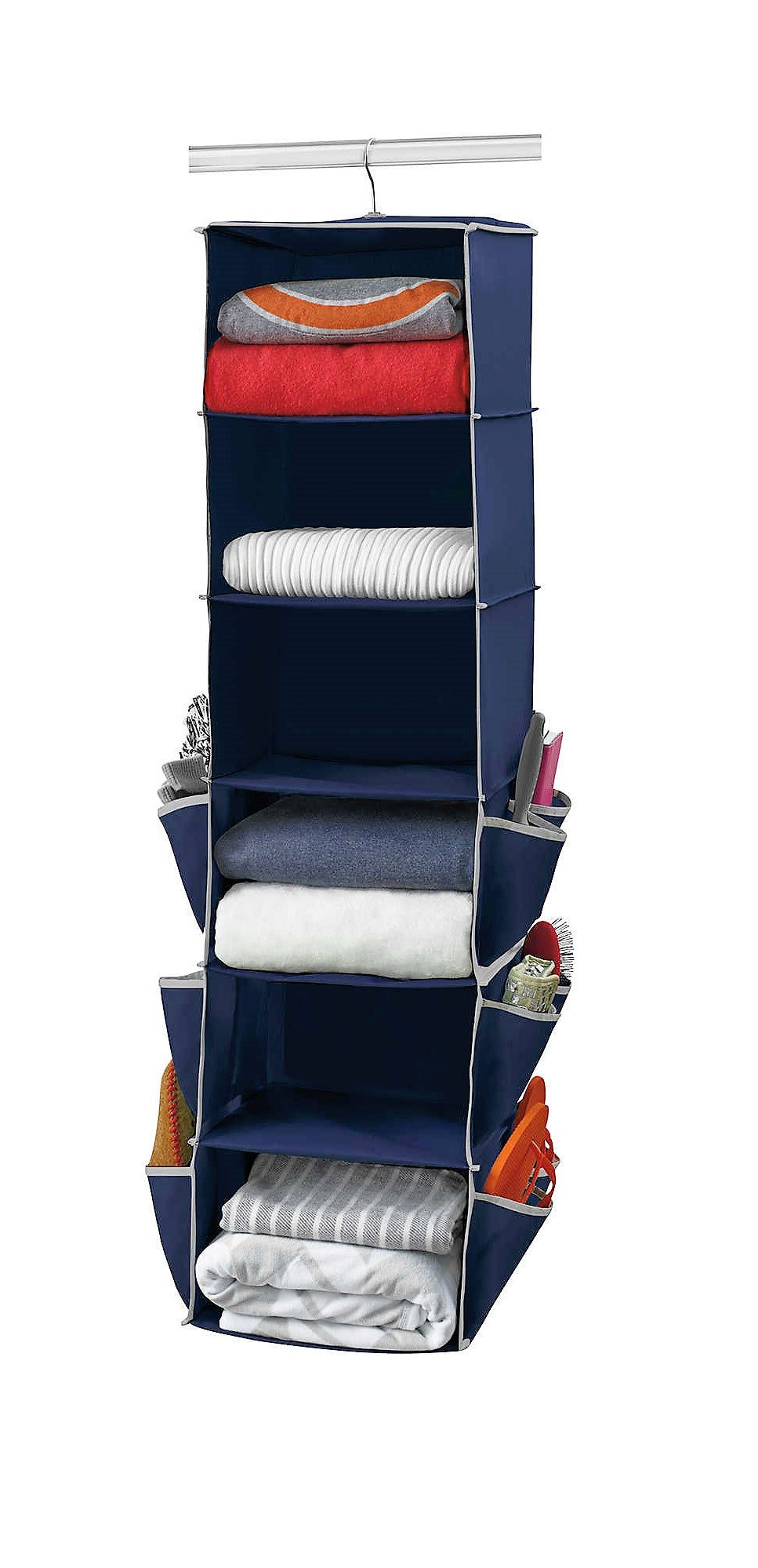 Give 10 Back 444600020592 Studio 3B Spinning Closet Organizer In Blue  Depths Give Ten Back Give10Back