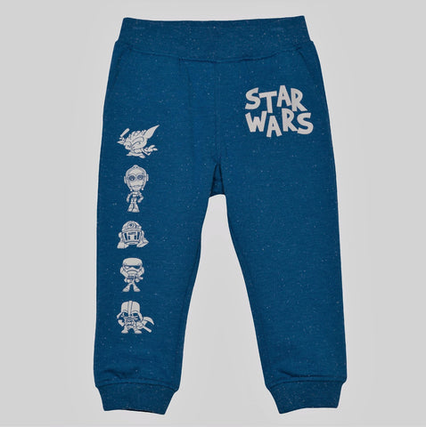 Give 10 Back 490331334408 Toddler Boys' Star Wars Jogger Pants - Blue Give Ten Back Give10Back