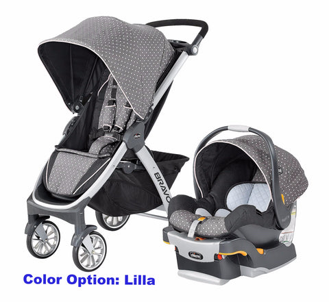 Give 10 Back 49796606263 Chicco Bravo Quick-Fold Trio Travel System - Lilla Give Ten Back Give10Back Black Friday Giving Tuesday Cyber Monday