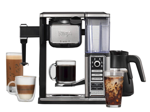 Give10Back 622356543385 Ninja Coffee Bar Glass Carafe System - CF091 Give10Back GiveTenBack