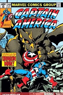 "Give 10 Back 629268575398 Marvel Comics ""Captain America: Caught in the Clutches of Dragon Man"" Cover Issue Canvas Wall Art Give Ten Back Give10Back - Cyber-Monday-Black-Friday-Giving-Tuesday"