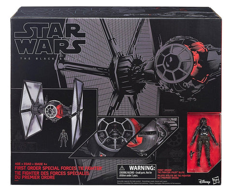Give 10 Back 630509412891 Star Wars the Black Series SW E7 First Order Special Forces Tie Fighter Give Ten Back Give10Back