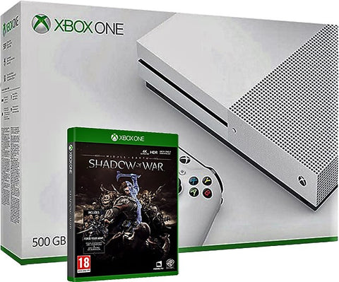 Give 10 Back 636657053269 Xbox One S 500GB Console - Shadow of War Bundle Give Ten Back Give10Back - Cyber-Monday-Black-Friday-Giving-Tuesday