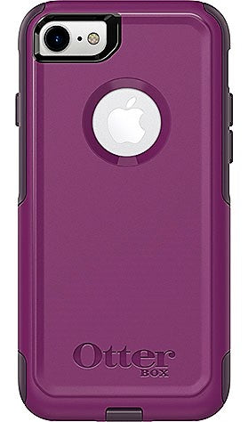 Give 10 Back 660543407744 Otterbox Commuter Series For Iphone 7 - Purple & Black Give Ten Back Give10Back