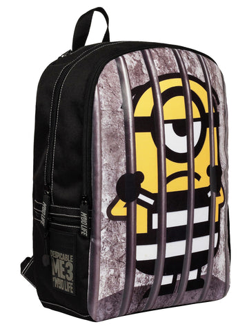 Give 10 Back 688955859081 Mojo Life Minions 17-inch Kids' Backpack Give Ten Back Give10Back Cyber-Monday-Black-Friday-Giving-Tuesday