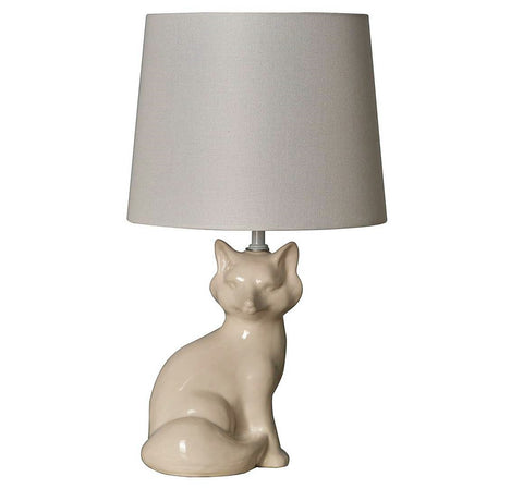 Give 10 Back 702992856626 Pillowfort Fox Table Lamp White - Includes CFL bulb Give Ten Back Give10Back