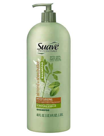 Give 10 Back 79400588739 Suave Professionals Almond + Shea Butter Moisturizing Shampoo - 40oz Give Ten Back Give10Back