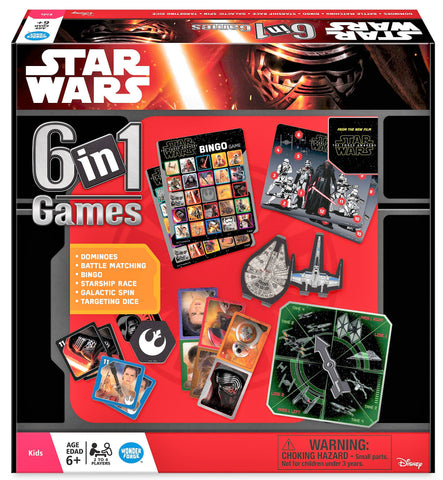 Give 10 Back 810558013601 Star Wars The Force Awakens: 6-in-1 Game Collection Give Ten Back Give10Back - Cyber-Monday-Black-Friday-Giving-Tuesday