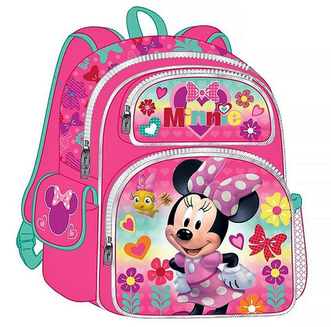 Give 10 Back 875598114114 Minnie Mouse 3D Backpack - 16 inch Give Ten Back Give10Back Cyber-Monday-Black-Friday-Giving-Tuesday