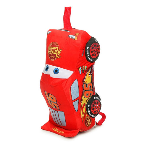 Give10Back-857237006219 Disney Pixar Cars 3 Plush Backpack-Lightning McQueen-Black Friday Cyber Monday Give 10 Back Give Ten Back Cyber-Monday-Black-Friday-Giving-Tuesday