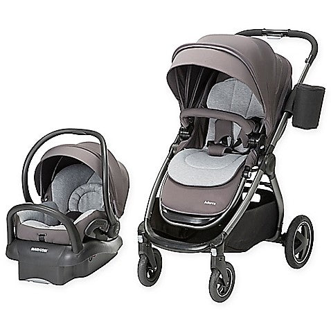 Give 10 Back Maxi-cosi Adorra Travel System In Loyal Grey Give Ten Back Give10Back