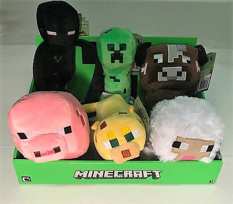 Give 10 Back Minecraft Baby Plush Dolls Variety Pack - 7 inch Cyber Monday Black Friday Giving Tuesday Christmas Gift Stocking Stuffers Give Ten Back Give10Back