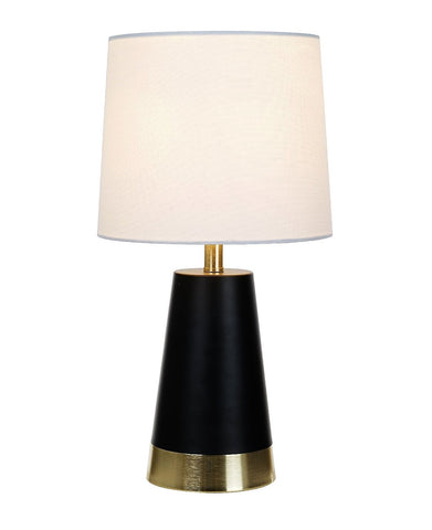 Give 10 Back 022011655819 Accent Table Lamp LED - Black and Metal Black Friday Christmas Gift Give Ten Back Give10Back