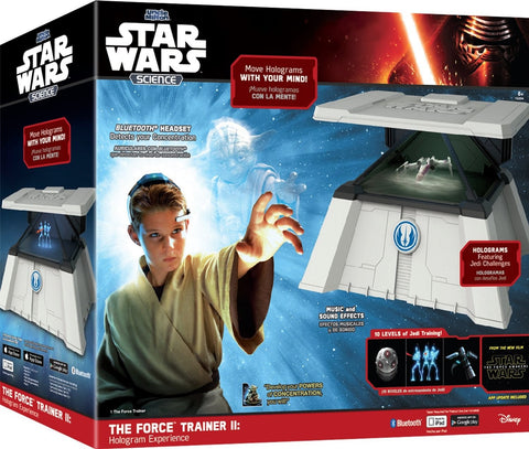 Give10Back 042499152044 Star Wars Science Force Trainer II Brain-Sensing Hologram Electronic Game Black Friday Christmas Gift Give 10 Back Give Ten Back