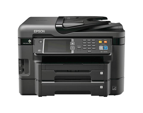 Give10Back 10343908161 Epson WorkForce WF-3640 Wireless All-in-One Printer in Black Give 10 Back Give Ten Back