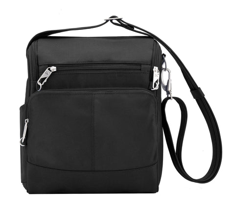Give10Back 25732038428 Travelon Anti-Theft Tour Bag in Black or Grey Give 10 Back Give Ten Back