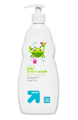 Give10Back 371661825470 Lot of 6 Up & Up Tear Free Kids' 3in1 Wash Walker Watermelon Body Wash Shampoo and Conditioner Give 10 Back Give Ten Back