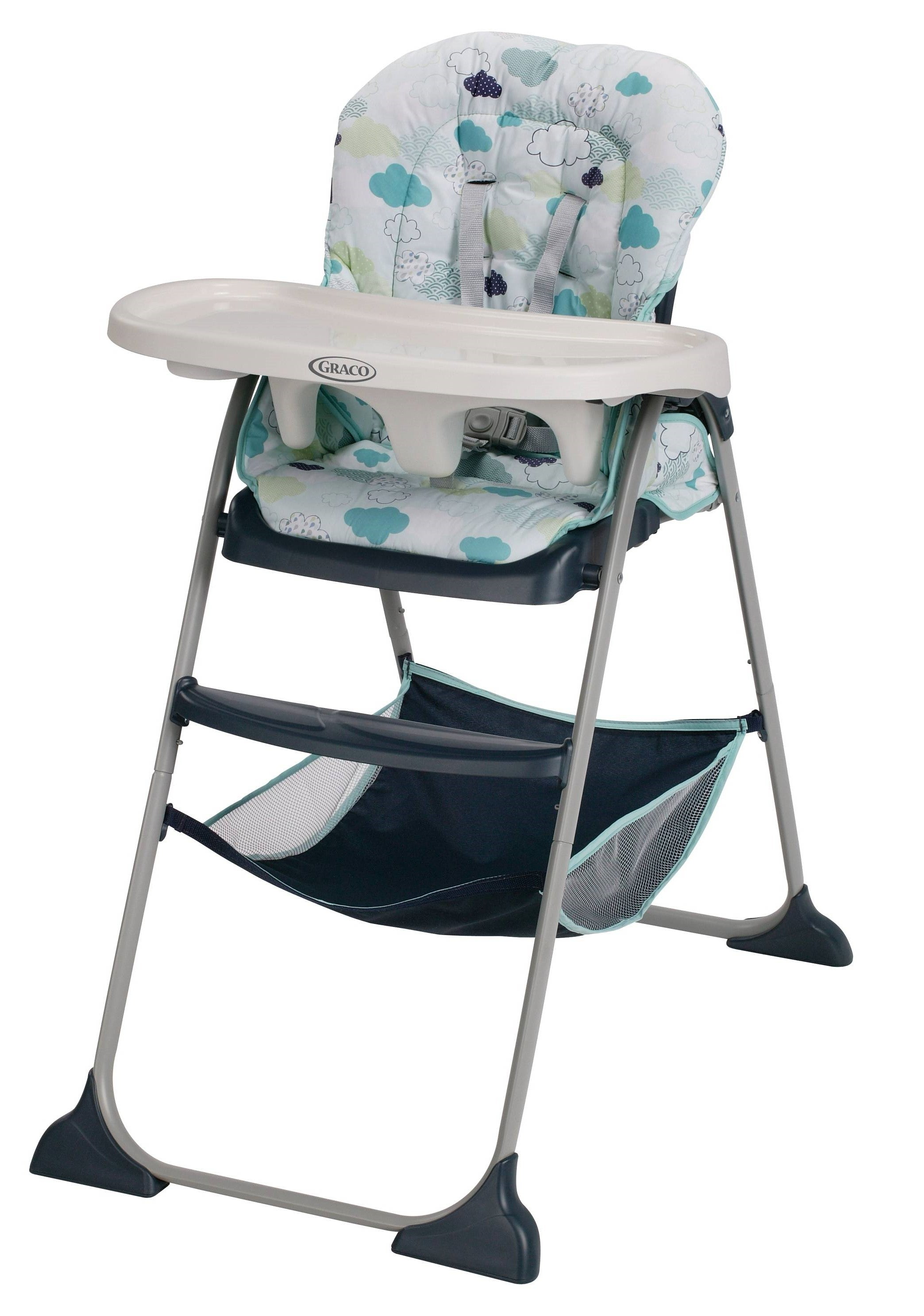 Graco Slim Snacker High Chair in Stratus – Give10Back