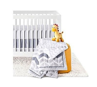 Give10Back 490300264712 Circo Zigs 'n Zags 4 Piece Baby Nursery Crib Bedding Set Give 10 Back Give Ten Back