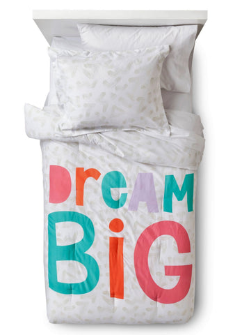 Give10Back 490970231465 Dream Big Comforter Set - Pillowfort Give 10 Back Give Ten Back