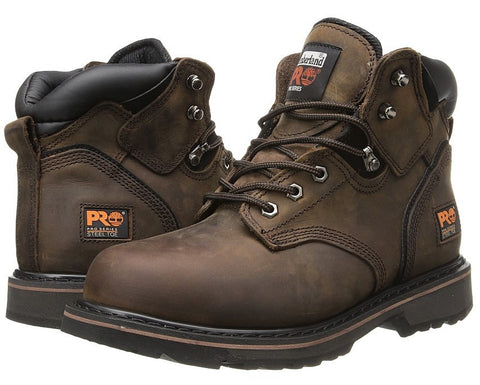 "Give10Back 657603107072 11.5 Timberland PRO Men's Pitboss 6"" Steel-Toe Boot Give 10 Back Give Ten Back"