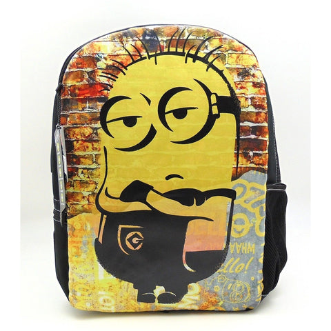 "Give-10-Back-688955859074 Mojo Life Despicable Me Minions ""Cool Dude"" Backpack-Give-10-Back-Give-Ten-Back-Cyber-Monday-Black-Friday"