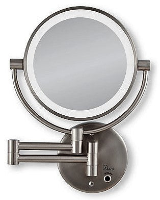 Give10Back 705004419475  Zadro Dual LED Lighted Wall Mount Mirror 1X & 10X Magnification Give 10 Back Give Ten Back