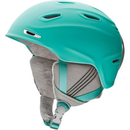 Give-10-Back-715757489465 Smith Sequel Womens Ski Snowboard Helmet Adult Medium Matte Opal-Give-10-Back-Give-Ten-Back-Cyber-Monday-Black-Friday