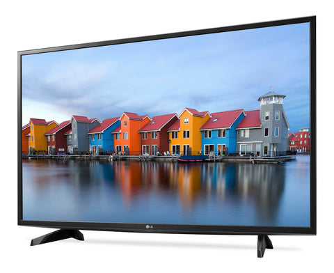 "Give10Back 719192610040 LG 43"" Class 1080p Full HD Smart LED TV in Black - 43LJ5500 Give 10 Back Give Ten Back"