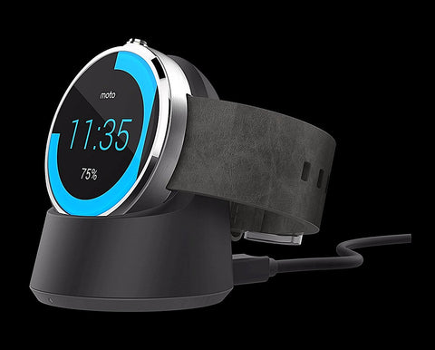 Give10Back 723755897717 Motorola - Wireless Charging Dock For Moto 360 Smart Watches Black Friday Cyber Monday Give Ten Back Give 10 Back