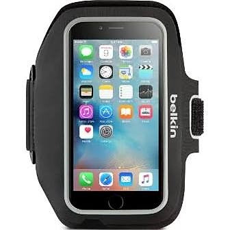 Give10Back 745883727759 Belkin iPhone 7 Plus Sportfit Plus Armband - Black Cyber Monday Black Friday Christmas Gift Stocking Stuffer Give 10 Back Give Ten Back