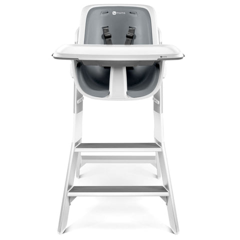 Give10Back 817980014497 4moms High Chair In White and Gray Black Friday Cyber Monday Christmas Baby Shower Gift Give Ten Back Give 10 Back