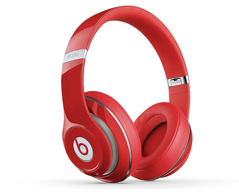 Give10Back 848447001163 Apple New Beats By Dr Dre Studio 2.0 Wired Over Ear Headphones Red B0500 Black Friday Christmas Gift Give 10 Back Give Ten Back
