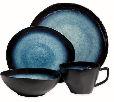 Give10Back 85081376244 Gibson overseas Celestia 16 Piece Dinner Set Give 10 Back Give Ten Piece