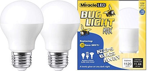 Give10Back 854943006410 Miracle LED Yellow Bug Light MAX Give 10 Back Give Ten Back