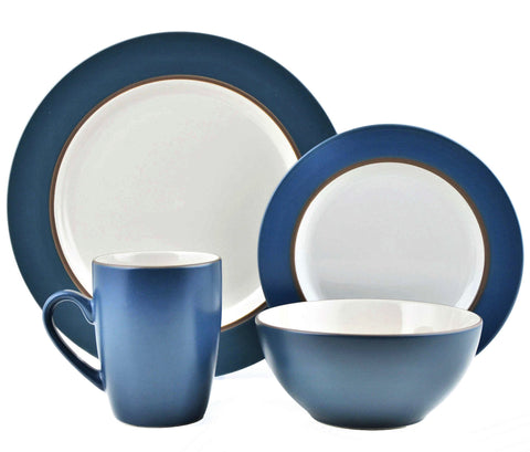 Give10Back 86269036356 Thomson Pottery 16 Piece Kensington Stoneware Dinner Set Give Ten Back Give 10 Back