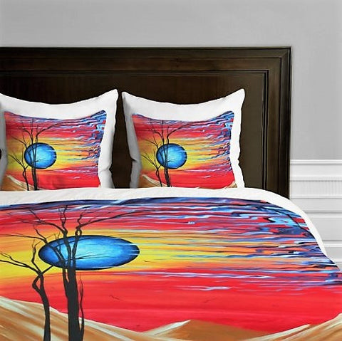Give10Back 887522011260 DENY Designs Madart Inc. Desert Dreams Duvet Cover, King Give 10 Back Give Ten Back
