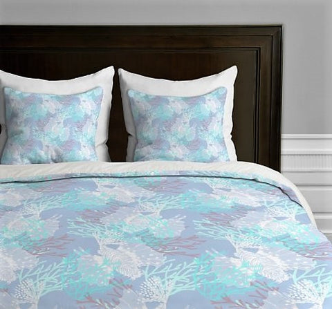 Give10Back 887522013424 DENY Designs Aimee St Hill Tiger Fish Blue Duvet Cover King Give 10 Back Give Ten Back