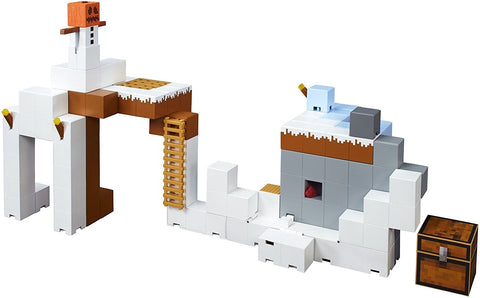 Give10Back 887961464498 Minecraft Tundra Tower Expansion Playset Give 10 Back Give Ten Back