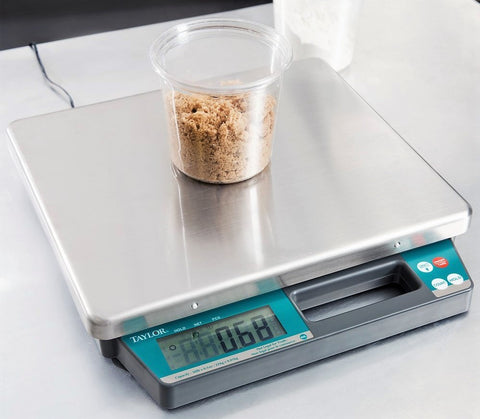 Give10Back B01ICB1EQC Taylor TE50 50 lb. Digital Portion Control Scale Give 10 Back Give Ten Back