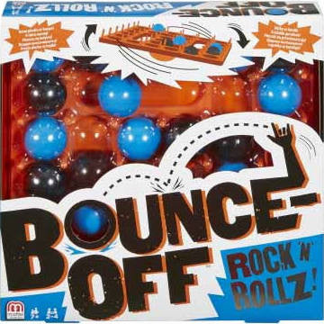 Give10Back-Board Games-Mattel Bounce-Off Rock N Rollz Board Game Give 10 Back