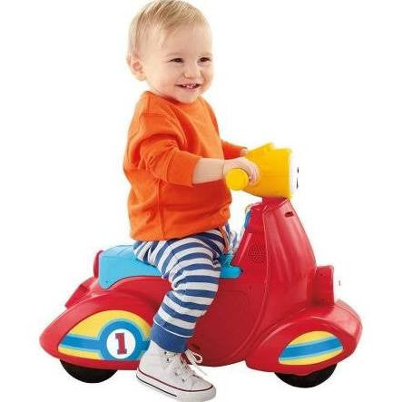 Give10Back-Kids Toys-Fisher-Price Laugh & Learn Smart Stages Scooter in Red Give 10 Back