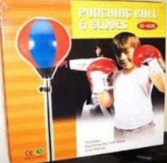 Kings Sport Boxing Punching Bag With Gloves Punching Ball for Kids Give10Back GiveTenBack