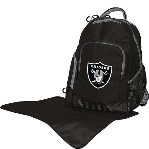 give10back giventenback baby infant diaper backpack sports collectables diaper bag nfl sports football oakland raiders