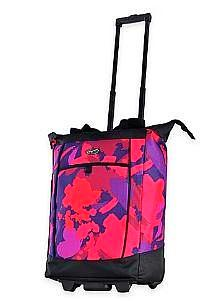 Olympia Usa Fashionista Rolling Shopper Tote Pink Paint Give10Back GiveTenBack