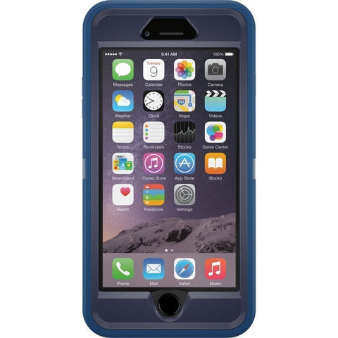 Give10Back-660543404668-OtterBox DEFENDER iPhone 6 Plus 6s Plus Case - ROYAL BLUE GUNMETAL GREY Give10Back GiveTenBack 2-Give-Ten-Back-Give-10-Back