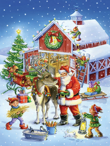 Ready Reindeer Jigsaw Puzzle 550 Piece Give10Back GiveTenBack