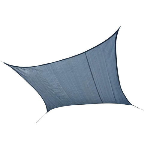 Shelterlogic 16 X 16 Outdoor Sea Blue Square Heavy Weight Sun Shade Sail Give10Back GiveTenBack
