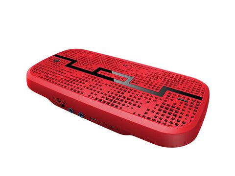 Sol Republic DECK Wireless Bluetooth Speaker Vivid Red Give10Back GiveTenBack
